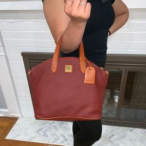 DOONEY AND BOURKE DILLAN SATCHEL